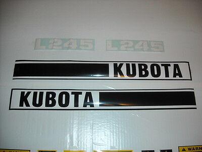 Kubota L245 Tractor Decal Set