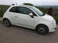 Fiat 500 lounge White