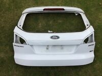 2008 FORD MONDEO MK4 ESTATE FROZEN WHITE TAILGATE