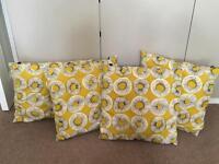 Habitat cushions two or four (£10 each)