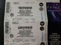 2 Britney Spears Tickets. Manchester. 18/08/18. Much less than face value