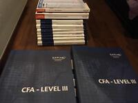 Full Schweser Kaplan CFA level 3 set