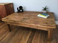 Restyled coffee table
