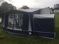 Dorema XL Porch awning with tall annex