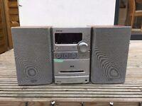Sony CMT-NEZ7 Micro Hifi with CD (MP3 compatible), Tape & Radio (FM/AM/DAB)