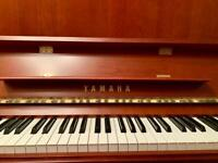 2013 Yamaha B3 Satin Natural Cherry Upright Piano - 5 Yr Warranty, Free Delivery, Stool