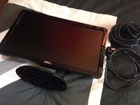 Dell 19inch PC monitor with VGA cable