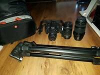 Canon EOS 700D Plus Lenses