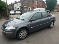 1.6 RENAULT MEGANE 2006 YEAR AUTOMATIC 98000 MILES MOT TILL 12/05/2019 HISTORY 3 MONTHS WARRANTY