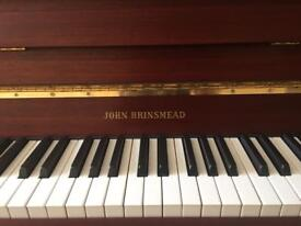 Upright Piano John Brinsmead (FREE Local Delivery 10 Miles from TN12)Serviced at Concert Pitch 440