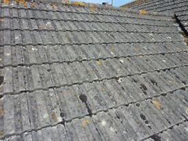 Redland 49 interlocking roof tiles, approx 800 -1000. £250. Available in next 4 weeks