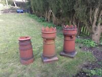 chimneys x3...two crowns...very old
