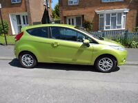 Ford Fiesta 1.4 Zetec 96bhp 1st Registered 2009. Lady owner.