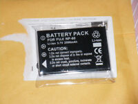 **NEW BATTERY** for camera