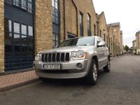 Great condition Jeep Grand Cherokee Overland 3.0 crd Not LHD Rear entertainment Sat Nav half leather