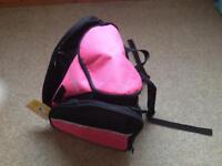 Transpack Ice Skates Bag / Rucksack in Pink *BRAND NEW*