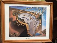 5 x Salvador Dali Framed Prints