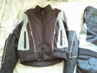 Armoured Motorbike Jacket and Trousers