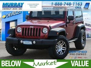 2012 Jeep Wrangler Sport  **upgraded rims and tires!**