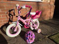 """Apollo Cupcake bike 12"""" wheel with helmet 44-52cm"""