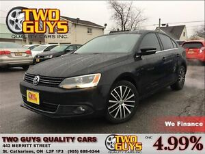 2013 Volkswagen Jetta 2.5L Highline LEATHER MOON ROOF