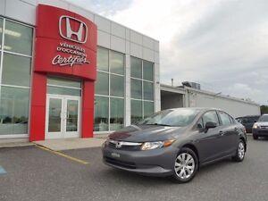 2012 Honda Civic DX *** À PARTIR DE 30.05$/SEMAINE!***