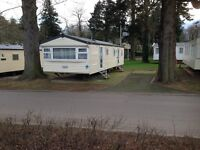 4 BED 10 BERTH CARAVAN TO RENT HAGGERSTON CASTLE SCHOOL BREAK HORSE RIDING