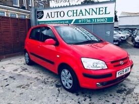 Hyundai Getz 1.1 CDX 5dr£1,485 p/x welcome FREE WARRANTY. NEW MOT