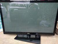 "LG 42"" HD flat screen TV"
