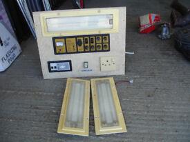 Transit auto sleeper flair control panel