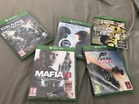 XBOX ONE GAMES - BRAND NEW SEALED