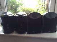 4 Tannoy SFX 5.1 Speakers
