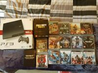 PlayStation PS3 160GB with many games