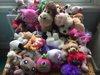 Soft Toy assortment - Includes talking moving ones!