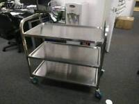 3 Tier Stainless Steel Catering Trolley