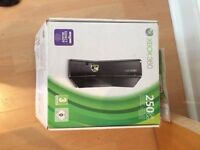 Xbox 360 for sale + 2 white controllers