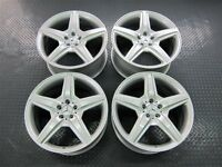 "MERCEDES-BENZ CL CLASS W216 S CLASS W221 GENUINE 20"" AMG III ALLOY WHEELS"