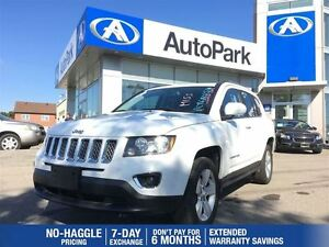 2015 Jeep Compass High Altitude/BLUETOOTH/HEATED SEATS/LEATHER/S