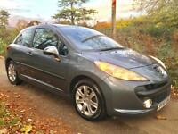 A Lovely Car !!! Peugeot 207 1.6 Sport 3dr + New MOT & Serviced + Warranty
