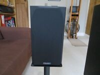 Mission 700 pair, B and W DM601 pair and single Celestial SCS centre speaker.