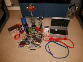 Various Hookah / Shisha pipes and accessories