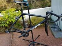 Btwin carbon road bike 58cm