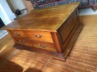 8 drawer coffee table