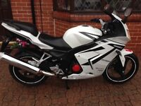Roadsport 125, perfect condition one year old. Been kept in garage fsh