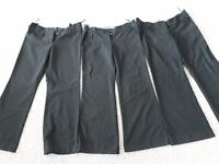 Maternity Trousers Black Formal Work Wear 3 Pairs