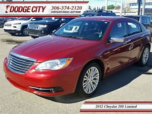 2012 Chrysler 200 Limited **PST PAID**