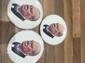Winston Churchill plates