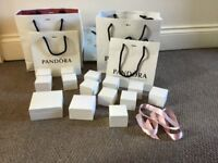 Genuine Pandora Gift boxes and bags