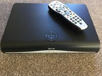 SKY PLUS BOX WITH REMOTE CONTROL AND CABLE