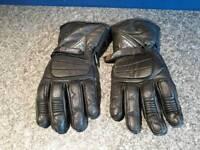 Thinsulate bio motorbike gloves